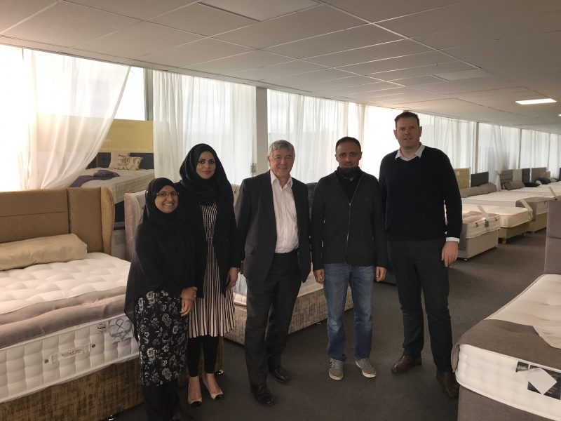 Deluxe Beds is delighted to host Sir John Harman from Huddersfield Unlimited